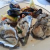 Clams and Oysters from Salty's on the Alki